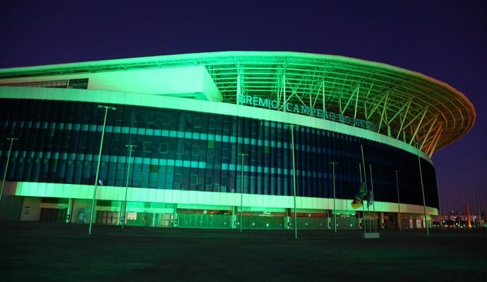 Arena do Grêmio homenagem Chapecoense  (Foto: Divulgação)