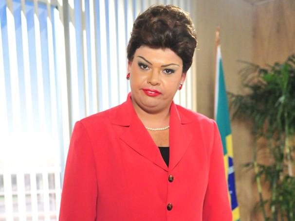 Gustavo Mendes como a presidente Dilma