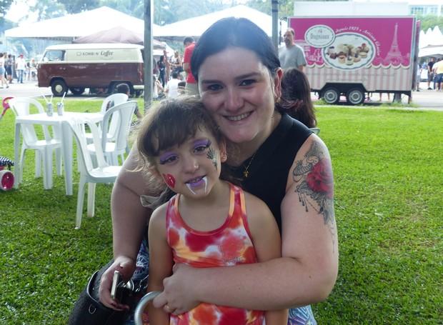 A garotada se divertiu pra valer, nesse fim de semana (Foto: Tk Santos/ RPC)