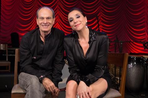 Marisa Orth entrevistou Ney Matogrosso para 'Almanaque musical' (Foto: Ana Paula Amorim)