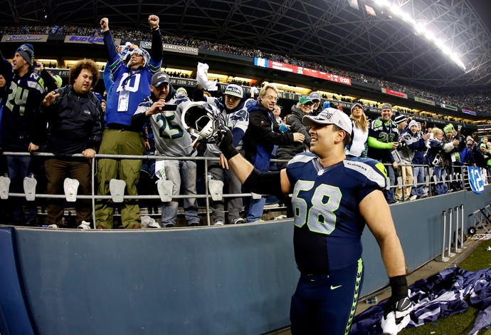 Breno Giacomini NFL Seattle Seahawks (Foto: Getty Images)