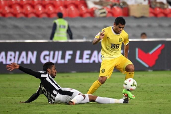 Ederson Al Wasl Emirados Árabes Atlético-PR (Foto: Reprodução/ Instagram)