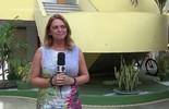 Hoje presidente da PBTur, Ruth Avelino fez a reportagem sobre a inauguração