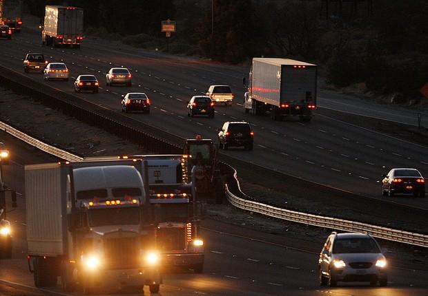 Caminhões movido à diesel (Foto:  David McNew/Getty Images)