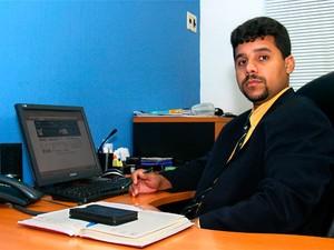 Advogado Anderson Miguel, o homem-bomba da operação Hígia, foi morto em 1º de junho de 2011, em Natal   (Foto: Jane Alves)