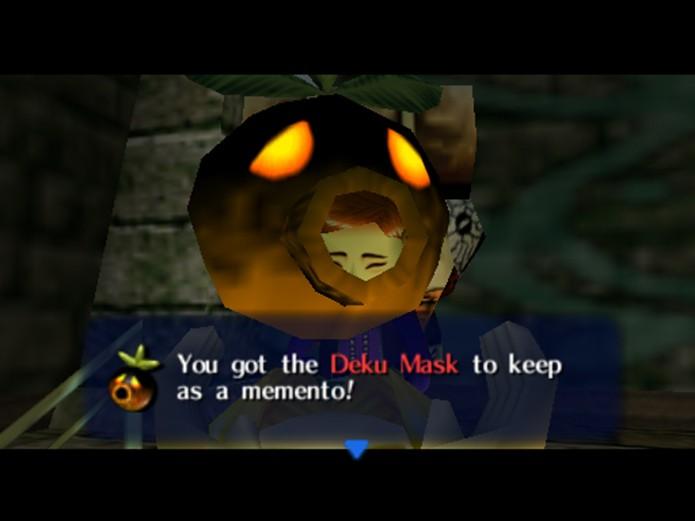 Deku Mask garante habilidades exclusivas (Foto: reprodução)