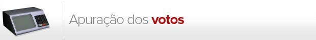 apuração votos (Foto: G1)