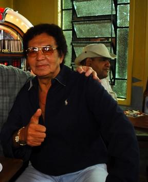 Reginaldo Rossi (Foto: Fabrício Mota / Tv Globo)