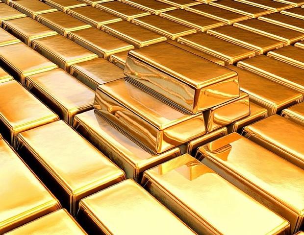 Barras de ouro (Foto: divulgação)