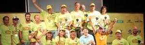 Campeões do primeiro dia de Pantanal Extremo são premiados (Divulgação/Prefeitura de Corumbá)