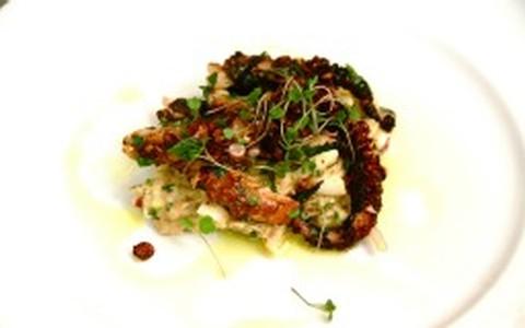 Polvo com salada de batata: receita de Claude Troisgros