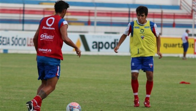 Volante Guto retorna à equipe do Fortaleza (Foto: Site oficial do Fortaleza)