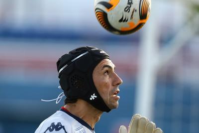 Ricardo Berna, goleiro do Fortaleza (Foto: Kiko Silva/Agência Diário)