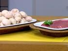 Cogumelo é excelente fonte de proteína e tem baixo valor calórico