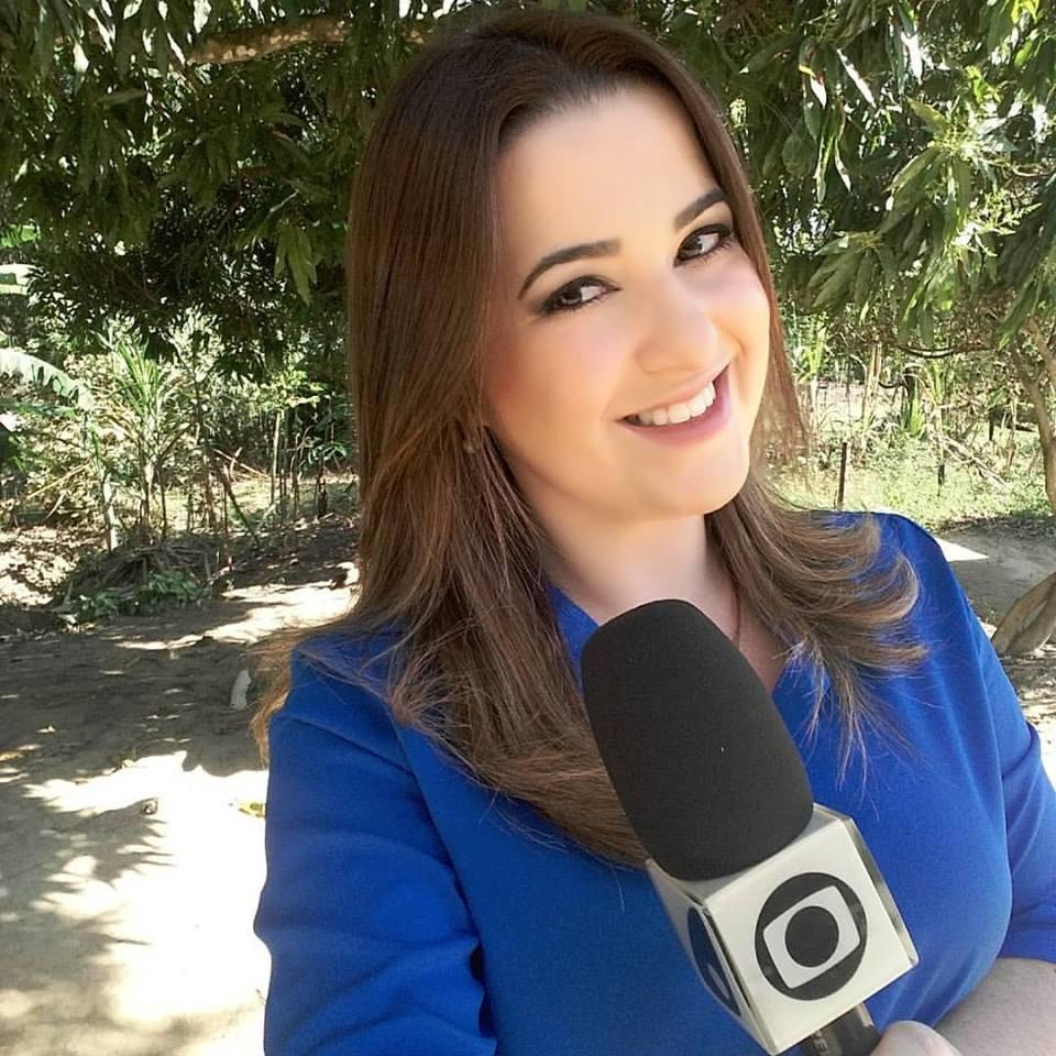 Michele Ferreira, nova repórter da TV Gazeta Sul (Foto: Divulgação/ TV Gazeta)