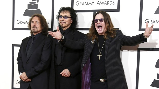 [Grammy] Black Sabbath, Geezer Butler, Tony Iommi e Ozzy Osbourne (Foto: Reuters / Agência)