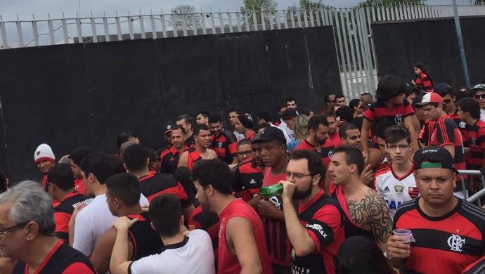 Torcida Maracanã Flamengo x Corinthians (Foto: Raphael Zarko)