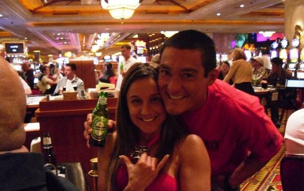 Daniela Freitas e o marido (Foto: Facebook / Reprodução)