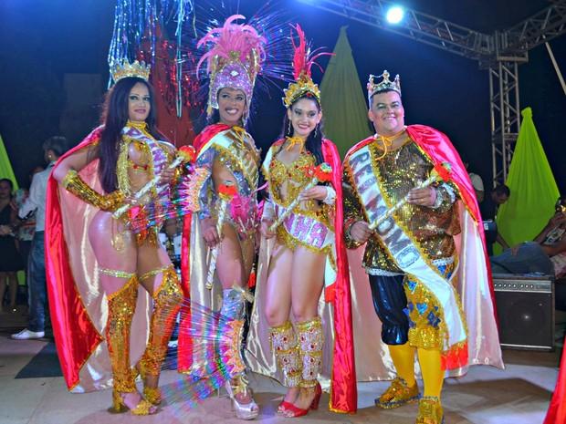 Realeza do Carnaval 2016 foi escolhida nesta sexta-feira (5) em Rio Branco (Foto: Caio Fulgêncio/G1)