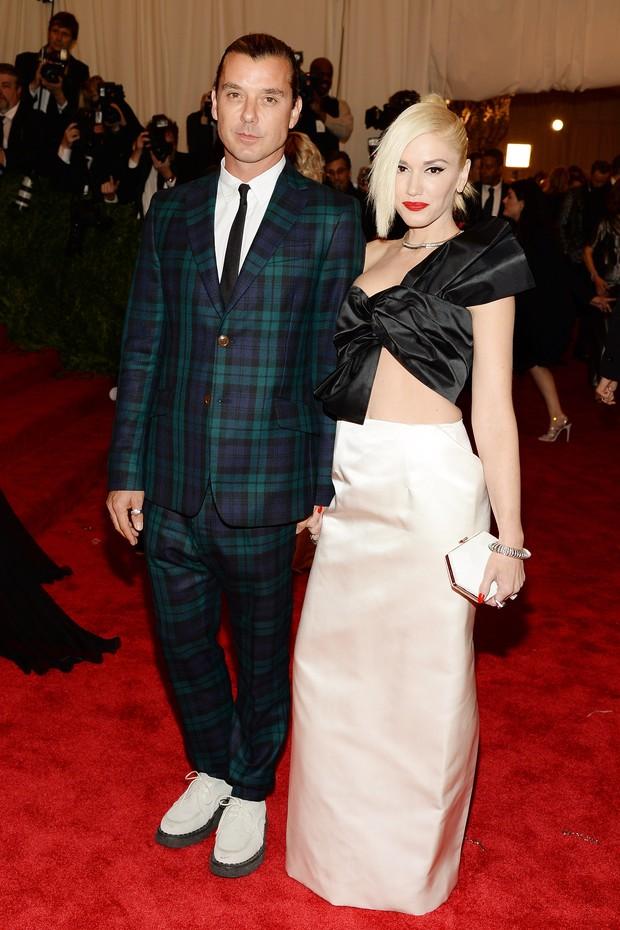 Gwen Stefani e Gavin Rossdale em 2013 (Foto: Getty Images)