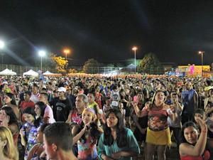 Público curtiu festa do início ao fim (Foto: Marcos Dantas/G1 AM)