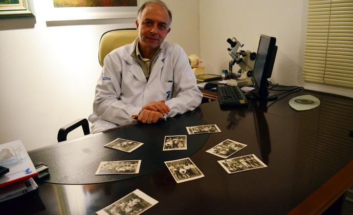 Oftalmologista Edson Gonçalves Reis - Campos do Jordão - Seleção Brasileira 1962 (Foto: Danilo Sardinha/GloboEsporte.com)