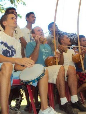 Iaco Zungu participa de atividade no Timor Leste. (Foto: Divulgação)