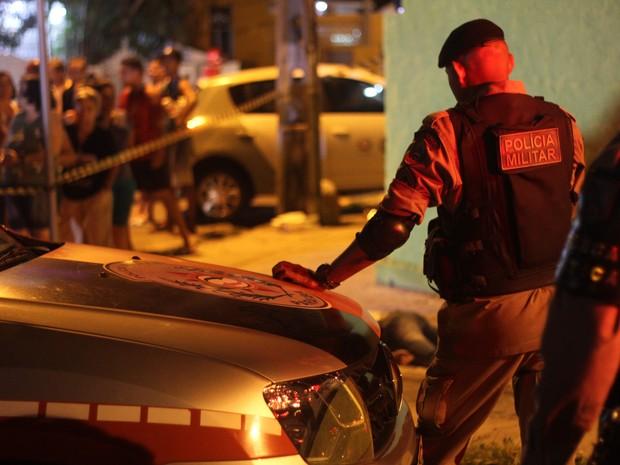 Universitária reage a assalto e é morta ao sair de faculdade em João Pessoa (Foto: Phillipe Xavier/Jornal da Paraíba)