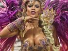 Musas do carnaval de São Paulo; FOTOS (Flávio Moraes/G1)