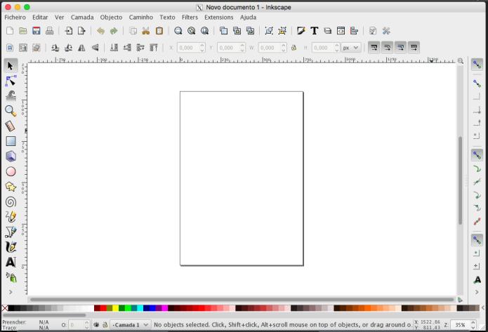 Inkscape no OS X via XQuartz (Foto: Reprodução/Edivaldo Brito)