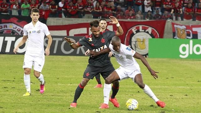 Resultado de imagem para Flamengo x Santos