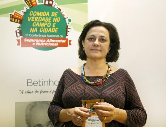 Elisabetta Recine preside o Conselho Nacional de Segurança Alimentar e Nutricional (Consea), vinculado ao Planalto (Foto: Ana Nascimento/Ministério do Desenvolvimento Social)