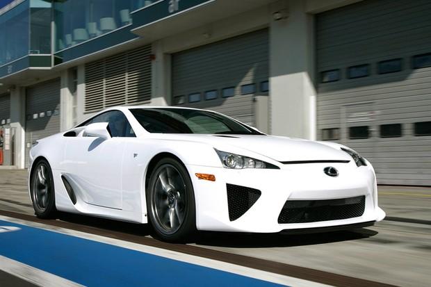 Lexus LFA (Foto: Lexus)