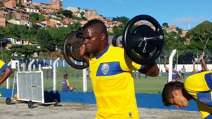 Elizeu CSA (Foto: Augusto Oliveira/GloboEsporte.com)