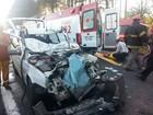 Motorista fica preso às ferragens  após colisão na BR-290, no RS
