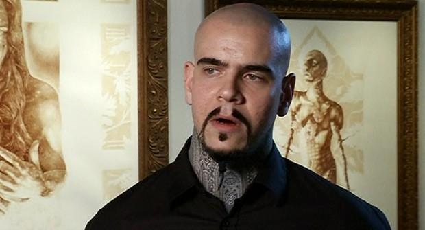 O artista Vincent Castiglia (Foto: BBC)