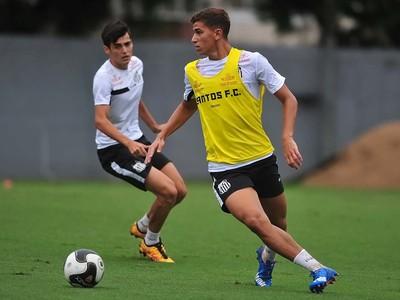 Vitor Bueno Santos (Foto: Ivan Storti / Santos FC)