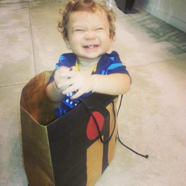 Gabriel, filho de Priscila Pires (Foto: Instagram / Reprodução)