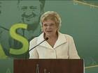 Nova ministra da Cultura, Marta Suplicy, toma posse no Planalto