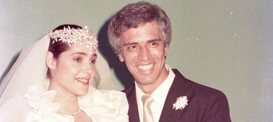 """Christiane Torloni e Nuno Leal Maia em """"A Gata Comeu"""" (1985)"""