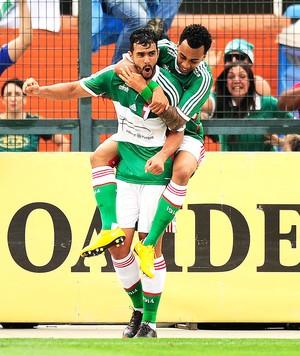 Henrique, Palmeiras x Corinthians (Foto: Marcos Ribolli)