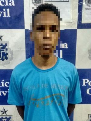 Pastor é preso após sequestrar e estuprar criança na Bahia (Foto: Divulgação: Polícia Civil)
