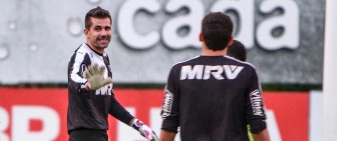 Victor durante treinamento na Cidade do Galo (Foto: Bruno Cantini/Flickr do Atlético-MG)
