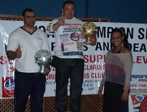 Supino, atletas do Amazonas (Foto: Divulgação)