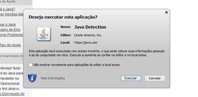 Confirme a execução do aplicativo (Foto: Reprodução/Helito Bijora)