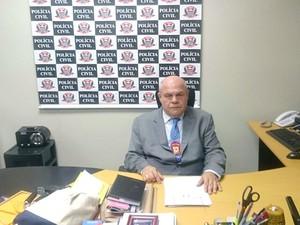 Atual vice-diretor do Denarc, delegado foi o responsável pelo caso (Foto:  Joaquim Dias Alves (Arquivo pessoal))