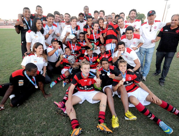 Flamengo campeão juniores  (Foto: Divulgação / Fla Imagem)