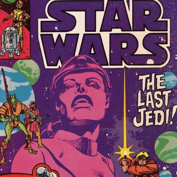 A polêmica HQ Os Últimos Jedi - se vê-la por aí, fique longe! (Foto: Reprodução/Twitter)