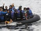 Ilha grega de Lesbos recebe mais de 2.500 refugiados em poucas horas