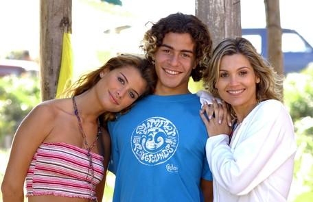 Em 2004, a atriz fez uma participação em 'Da cor do pecado' como Lena, e contracenou com Thiago Martins e Alinne Moraes João Miguel Júnior/TV Globo